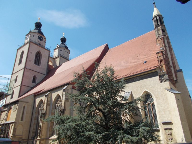 The Parish Church of St. Mary - Wittenberg