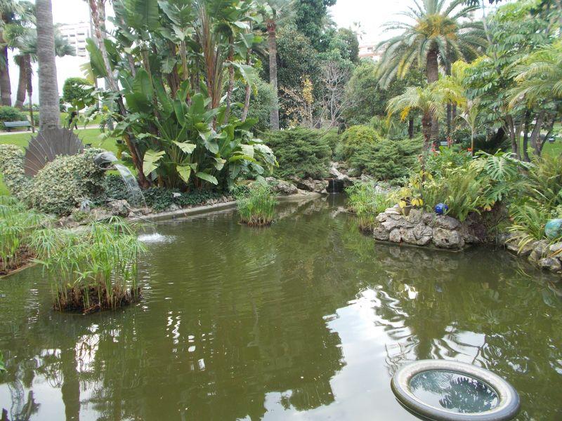 Gardens of The Casino of Monte Carlo - Monaco
