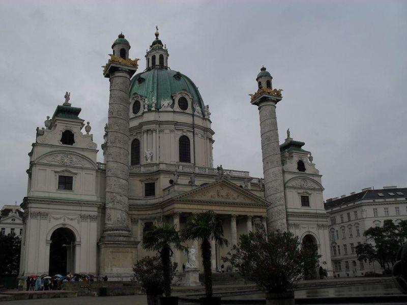 Karl's Kirche - Vienna