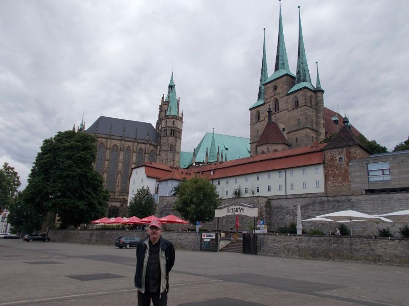 St. Severus Church and the Domplatz - Erfurt