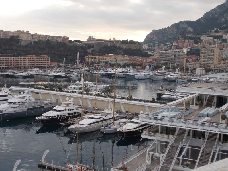 Views Towards The Old Town From Monte Carlo.