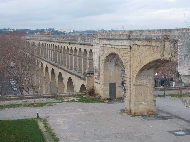 The Saint Clément Aqueduct. - Montpellier