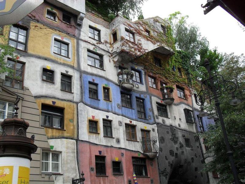 The Hundertwasser Krawinahaus - Vienna