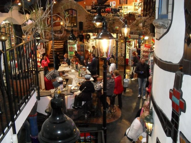 Inside Hundertwasser Village - Vienna