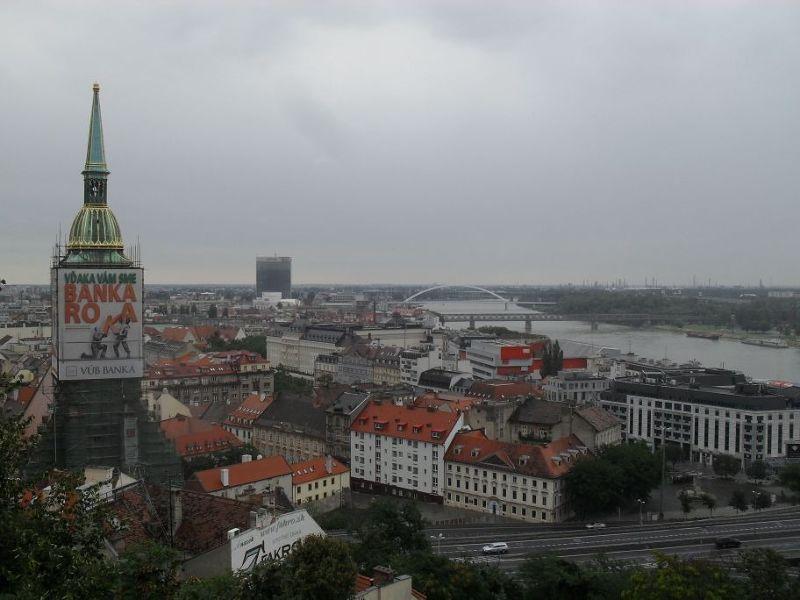 View towards St Martin - Bratislava