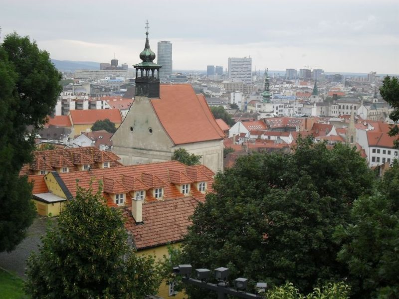 View over old town - Bratislava