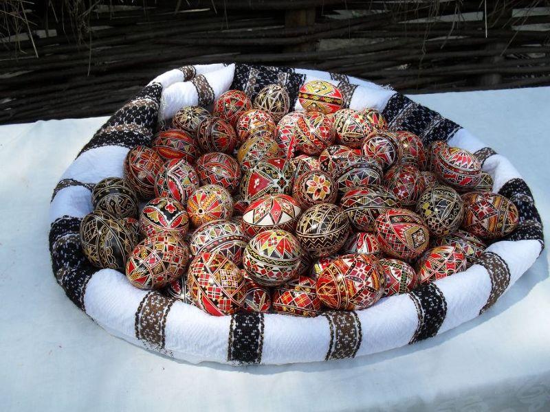 Hand painted eggs, Bucharest - Bucharest