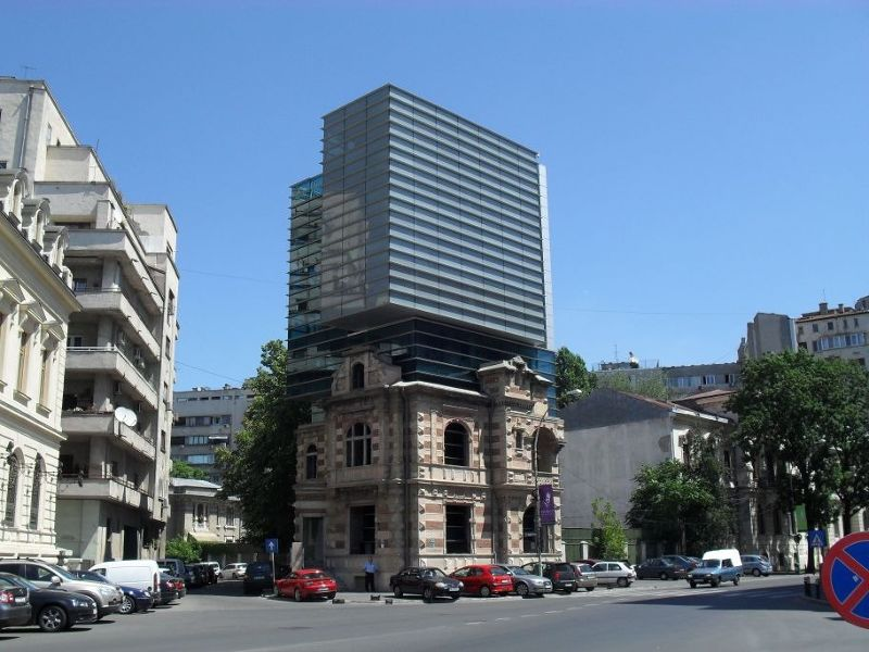 Former Securitate Building - Bucharest