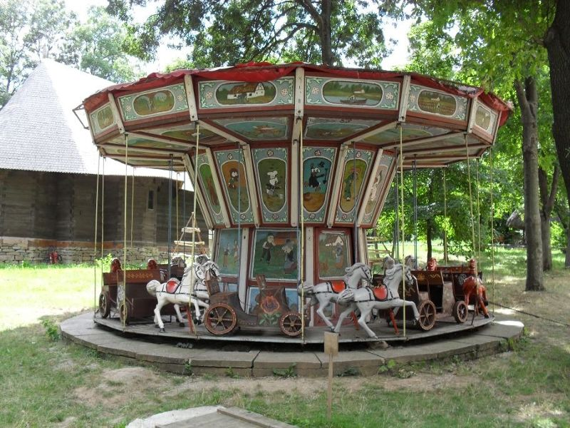 Merry-go-round - Bucharest
