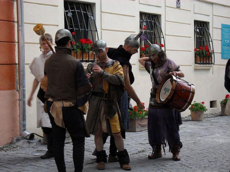 Festival Musicians - Sighisoara