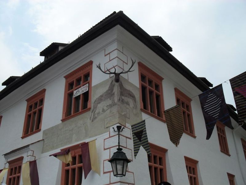 The House with the Stag - Sighisoara