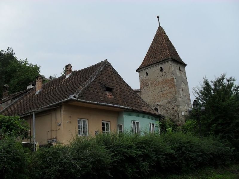 One of the old towers - Sighisoara