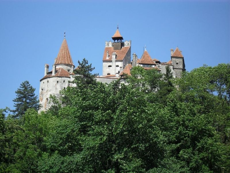Photographing Bran Castle