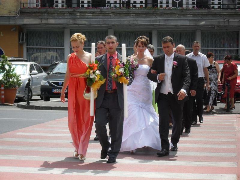 Brasov wedding procession - Brasov