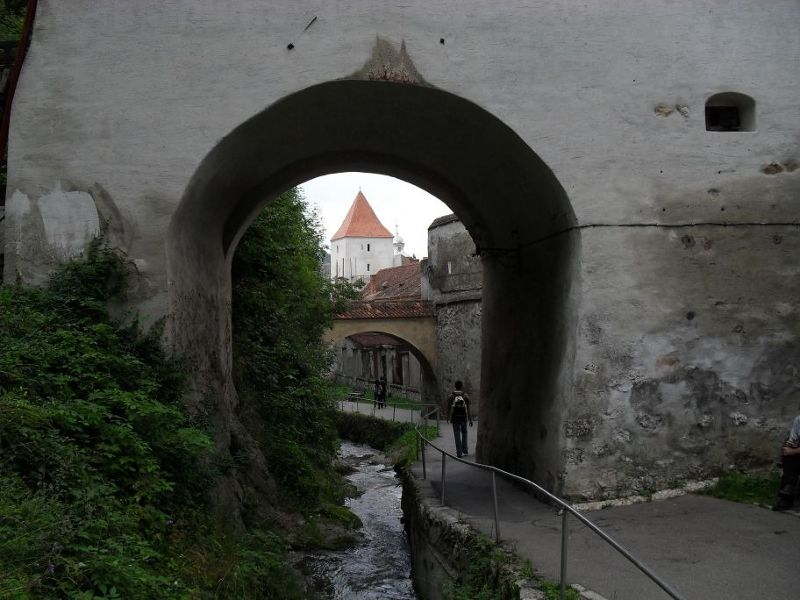 Towers, gates and walls - Brasov