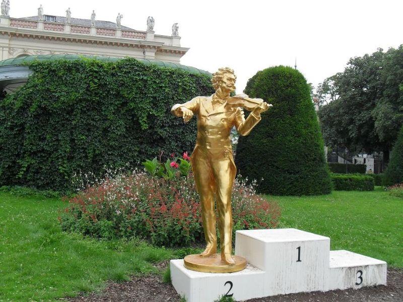Temporary Strauss Monument - Vienna