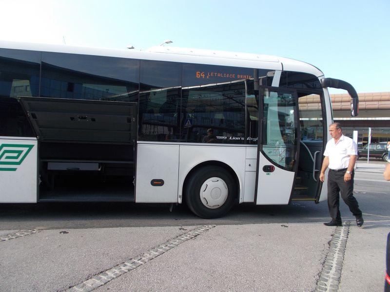 Bus to and from Ljubljana Airport. - Ljubljana