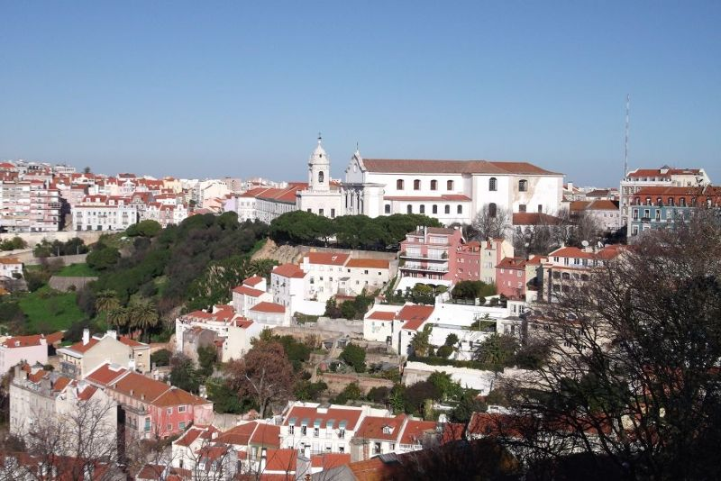 View from the castle. - Lisbon