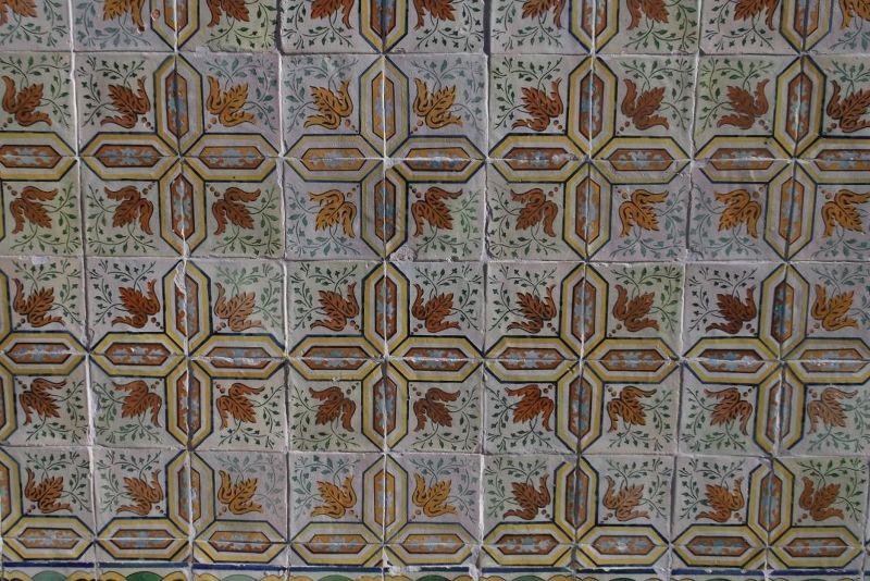 Beautiful tiles, Lisbon. - Lisbon