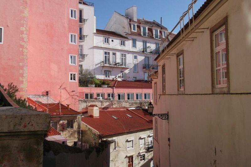 Alfama street. - Lisbon