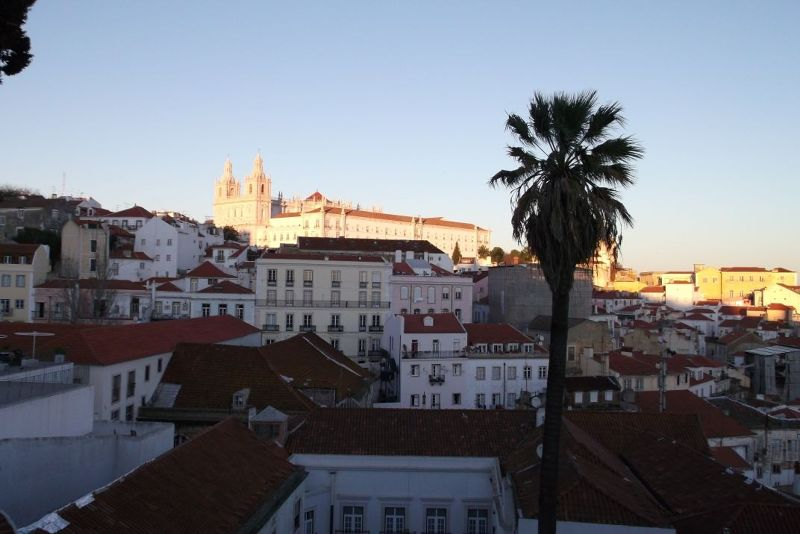 View from Portas do Sol. - Lisbon