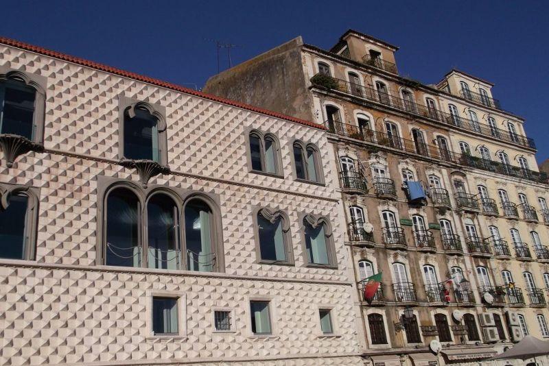 Casa dos Bicos. - Lisbon
