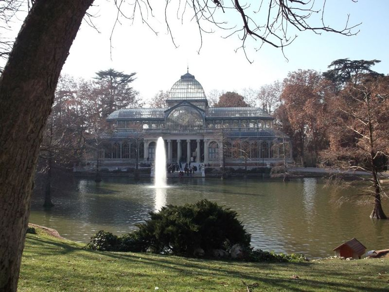 The Crystal Palace. - Madrid