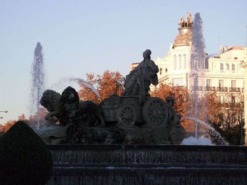 The Cibeles Fountain. - Madrid