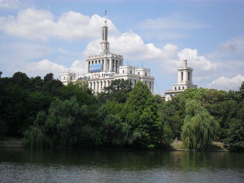 View towards Casa Presse Libere - Bucharest