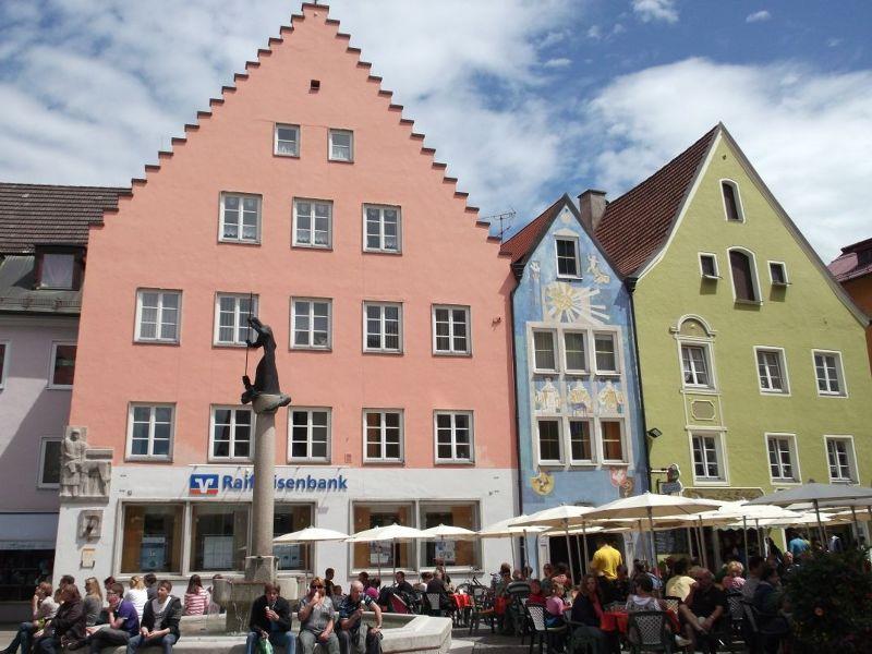 The old town of Fussen. - Füssen