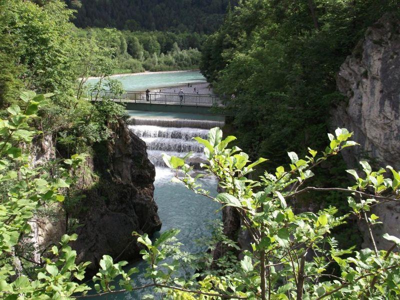 The Lechfall Waterfall
