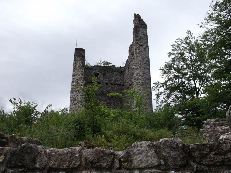 The Ruine Of Vilsegg Castle