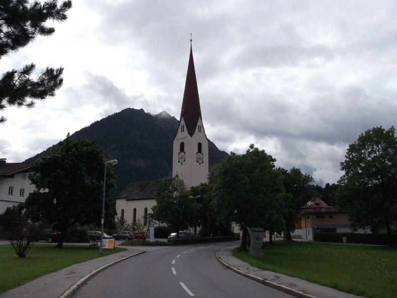 The Town Of Reutte