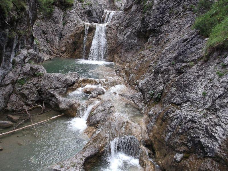 The Stuibenfalle Waterfalls