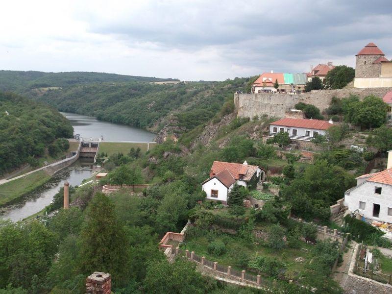 View over Znojmo. - Znojmo
