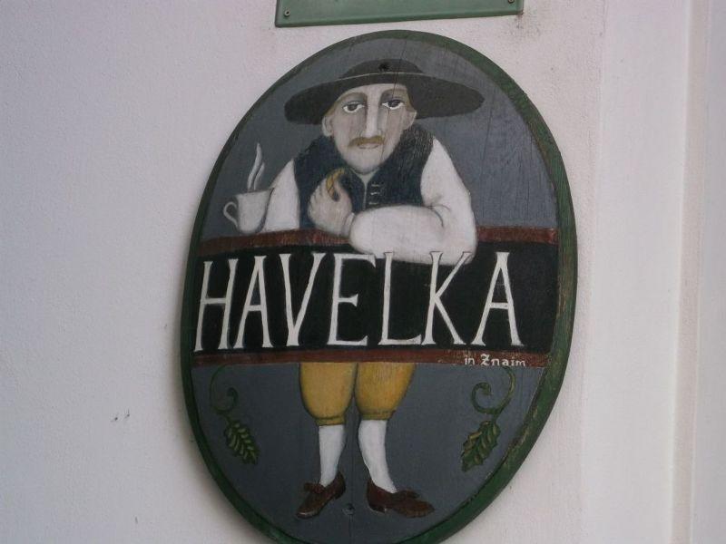 Lovely inn sign. - Znojmo