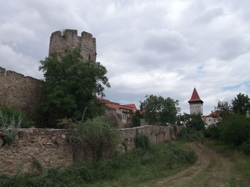 Wolf Tower And City Walls.