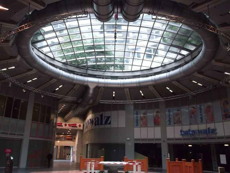 Inside C Block. - Vienna