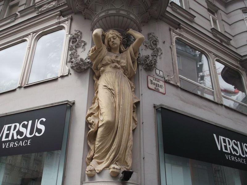 Beautiful facade. - Vienna