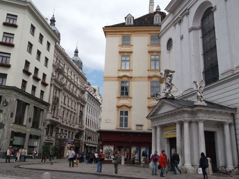 Near the Spanish Riding School. - Vienna
