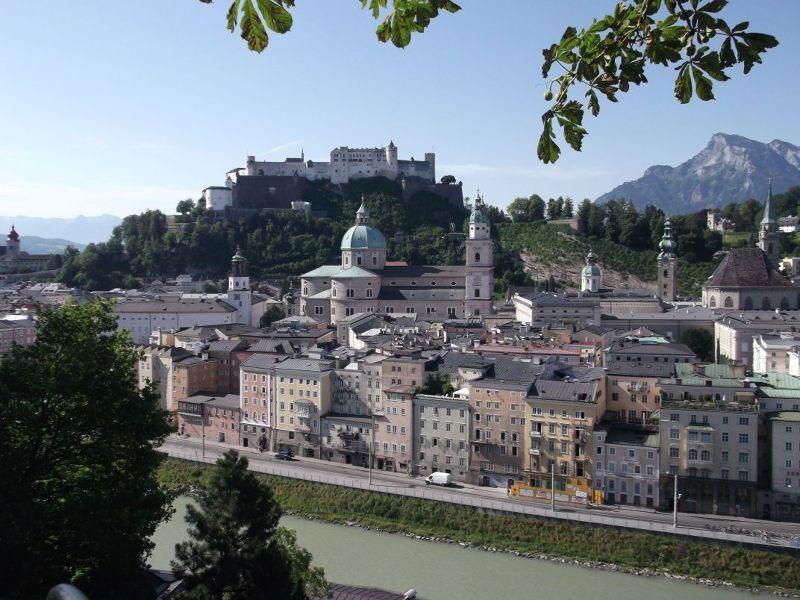 View from Kapuzineberg. - Salzburg