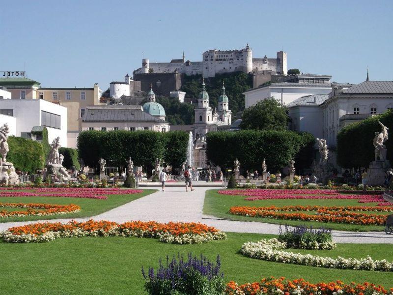 The Mirabell Gardens. - Salzburg
