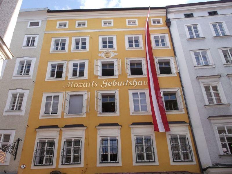 Mozart's birthplace. - Salzburg