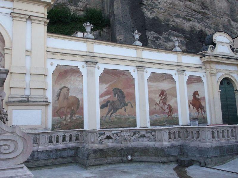 The horsewash. - Salzburg
