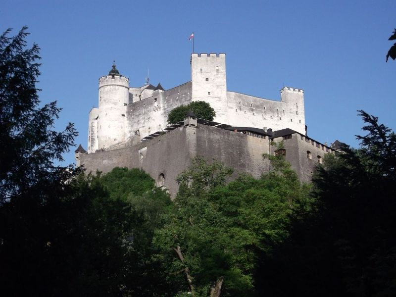 HohenSalzburg Fortress. - Salzburg