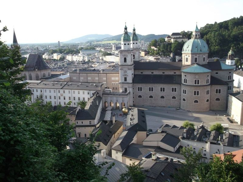 View from fortress. - Salzburg