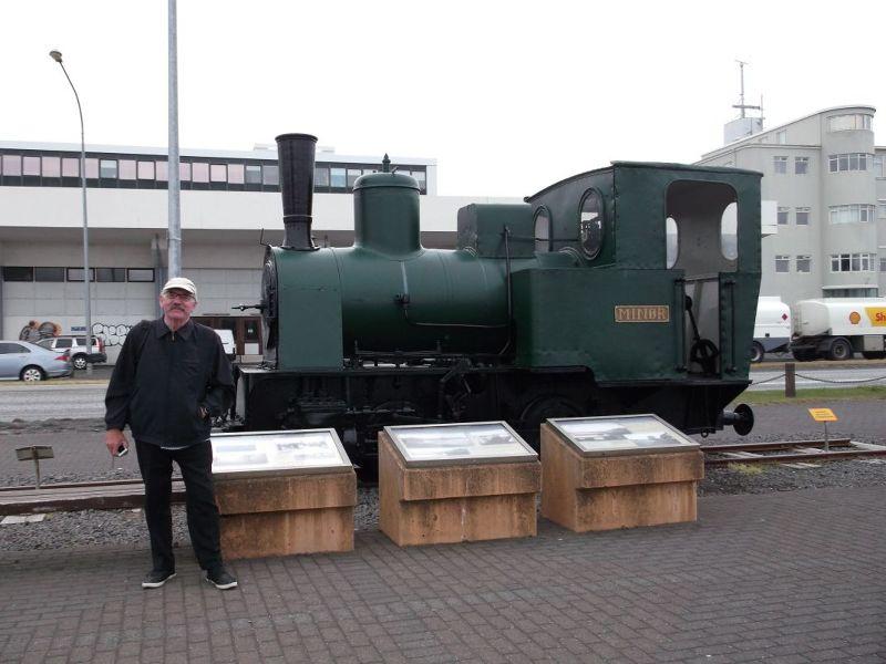 The old steam engine. - Reykjavík