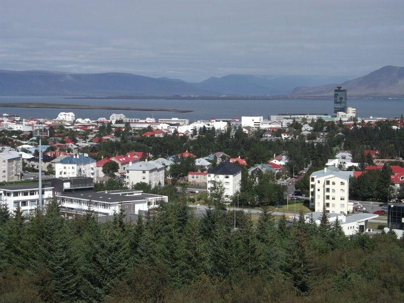 View from Perlan. - Reykjavík