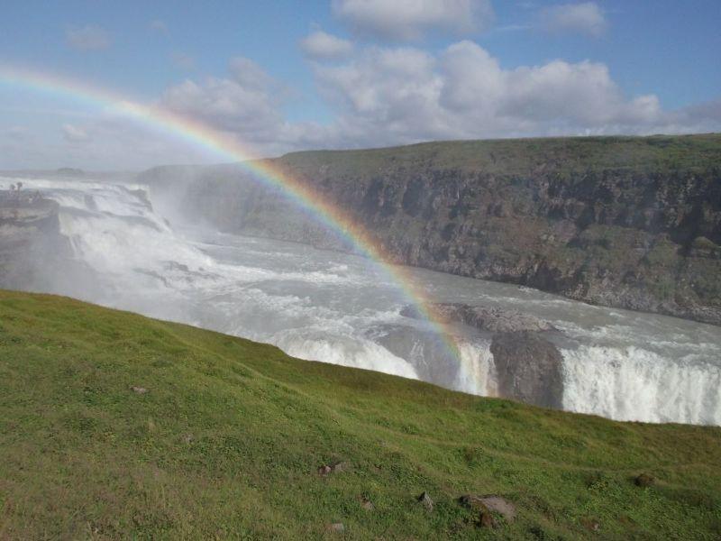 Gullfoss rainbow. - Reykjavík