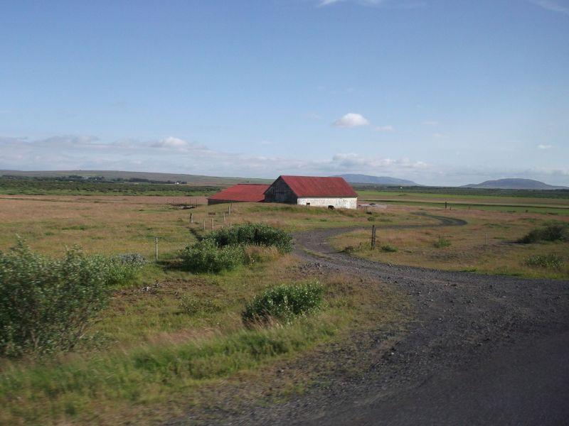House all on its own. - Reykjavík